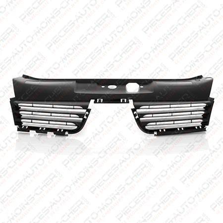 grille de calandre noir clio2 01 04 08 05 renault clio 3 portes. Black Bedroom Furniture Sets. Home Design Ideas