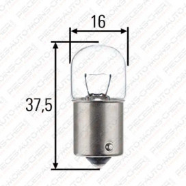 LAMPE R 19/5 (12V 5W BA15S)