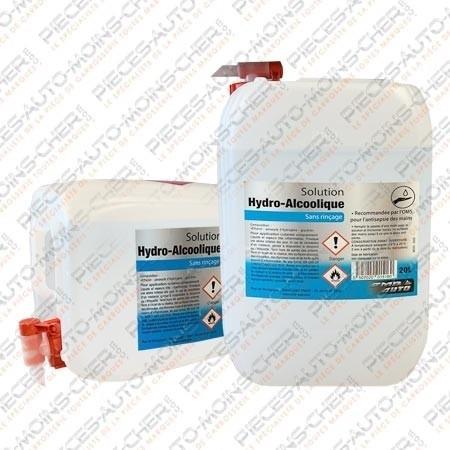 Solution Hydro alcoolique pour particulier et professionnel