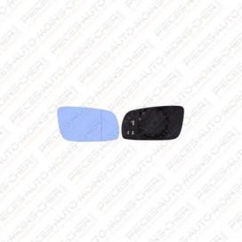 GLACE RETROVISEUR DROIT BLEU (CHAUFF CONVEXE) BORA 09/98 - 11/07