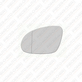 GLACE RETROVISEUR GAUCHE (CHAUFF ASPHERIQUE) PASSAT 04/05 - 10/10