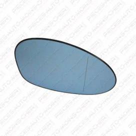 GLACE RETROVISEUR DROIT CHAUFFANT/ASPHERIQUE BLEU E87 09/04-04/07