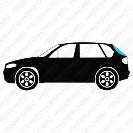 LUNETTE VERT + ANTENNE BMW 3 SERIE E36