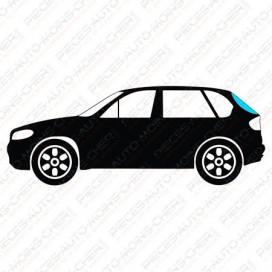LUNETTE VERTE SURTEINTEE + ANT. BMW MINI