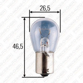 LAMPE E (24V 25W BA 15S)