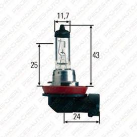 LAMPE H8 (12V 35W PGJ 19-1)