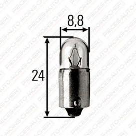LAMPE T8/3 (24V 2W BA9S)